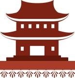 Древнее китайское здание