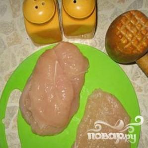 Куриная грудка с грибами и сыром в духовке рецепт с фото
