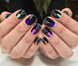 Nice nails and beauty
