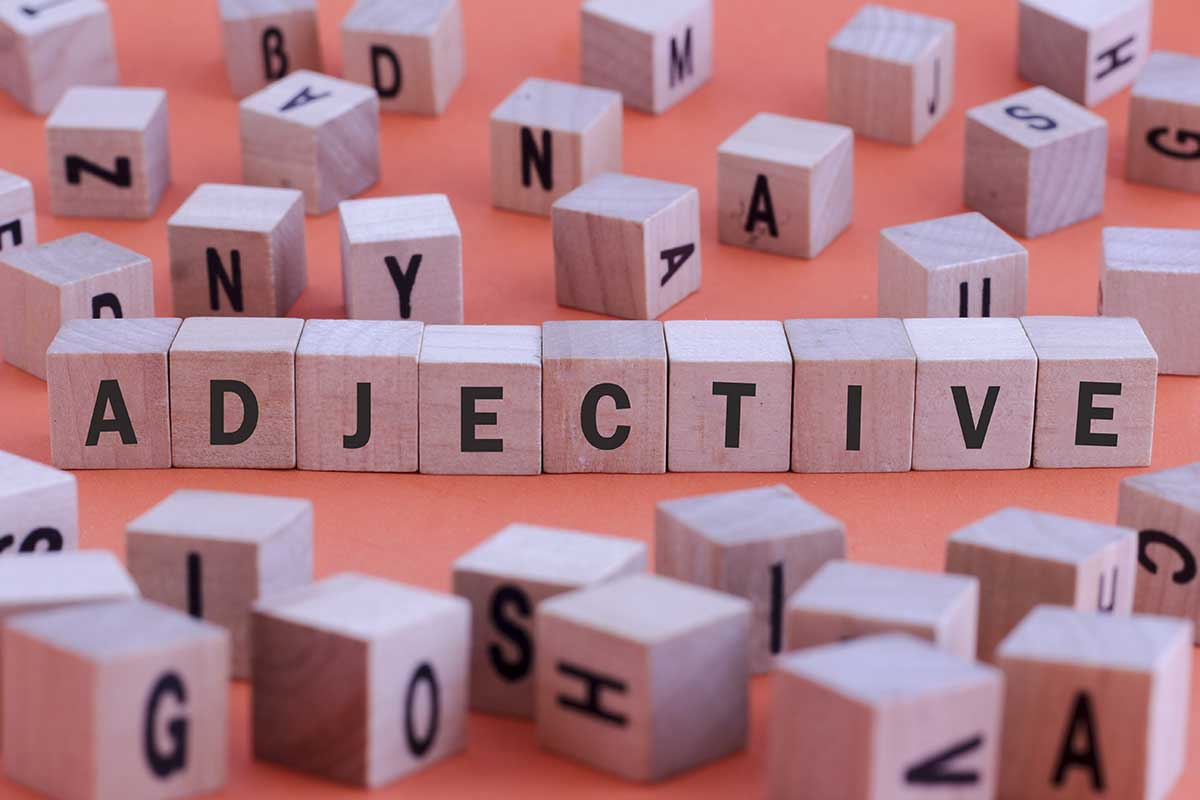 Adjectives interactive games