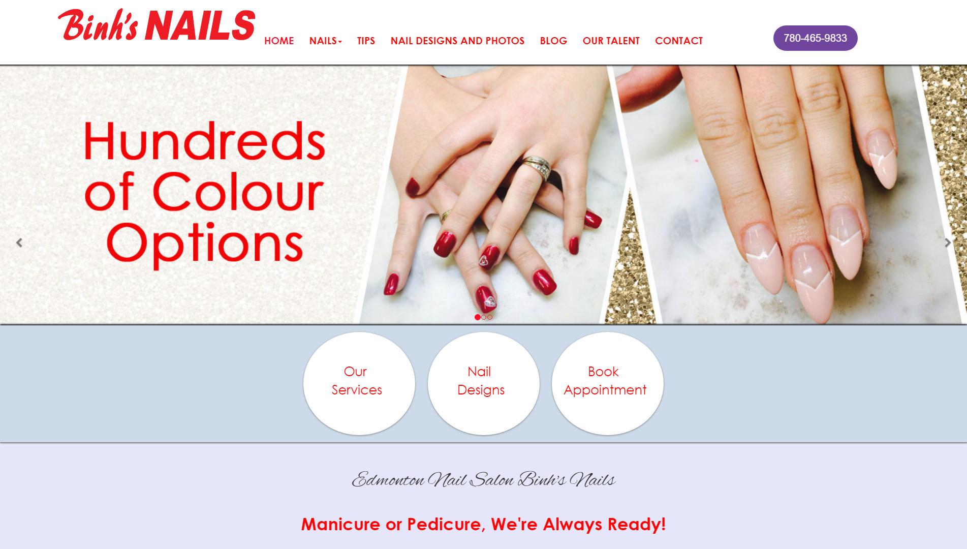 Friendly nails edmonton alberta