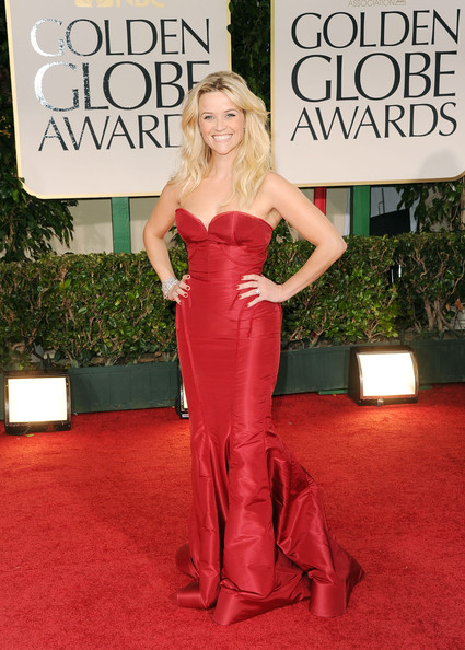 Reese witherspoon golden globe 2012