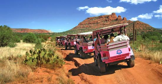 Sedona jeep tours pink