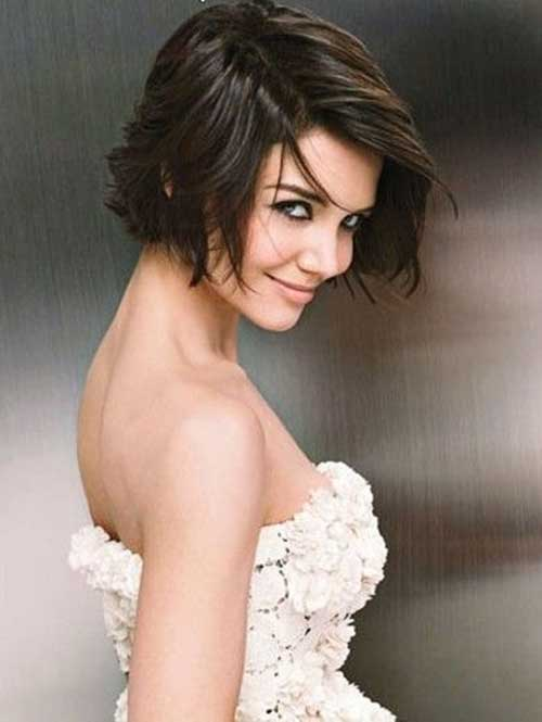 How to cut katie holmes bob