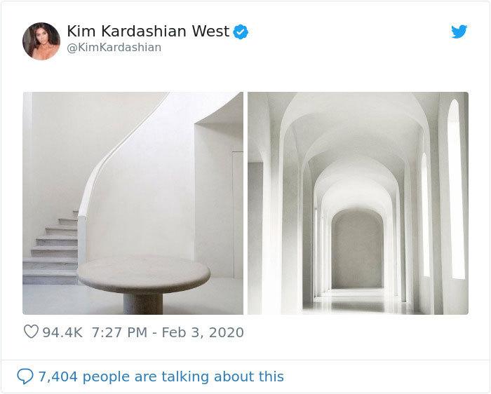 Фотожабы: Ким Кардашьян похвасталась вСети домом, ночто-то пошло нетак
