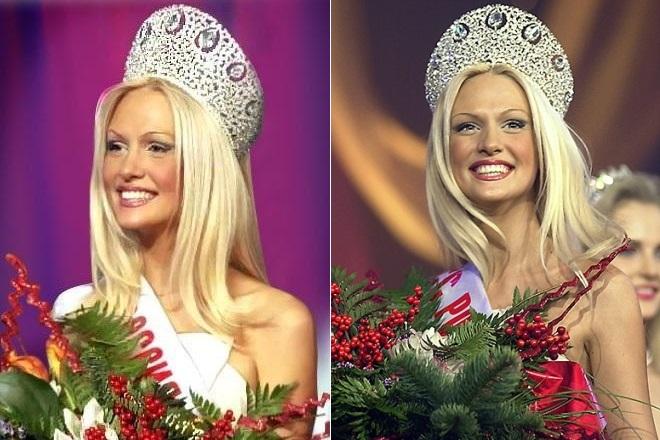 Виктория Лопырева на конкурсе красоты «Мисс Россия-2003»
