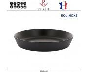 Емкость EQUINOXE для запекания и подачи порционная, D 14 см, черный, REVOL, Франция