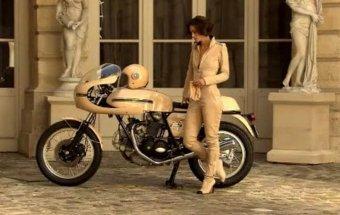 Кира найтли реклама на мотоцикле