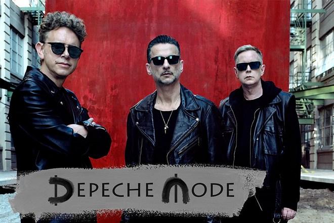 Группа «Depeche Mode» в 2018 году