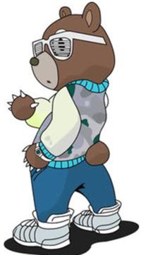 Kanye west dropout bear plush