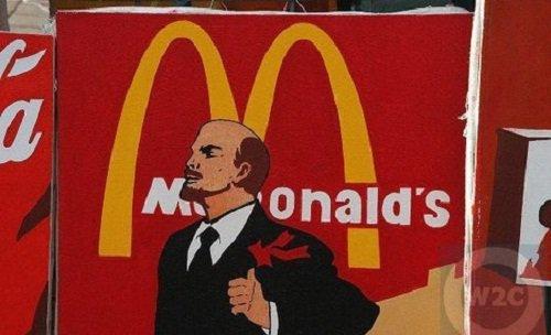 Макдональдс интерьер