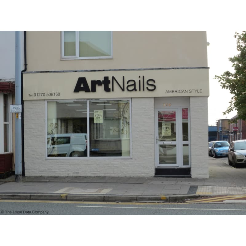 Art nails crewe opening times