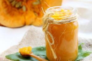 Варенье из тыквы и лимона