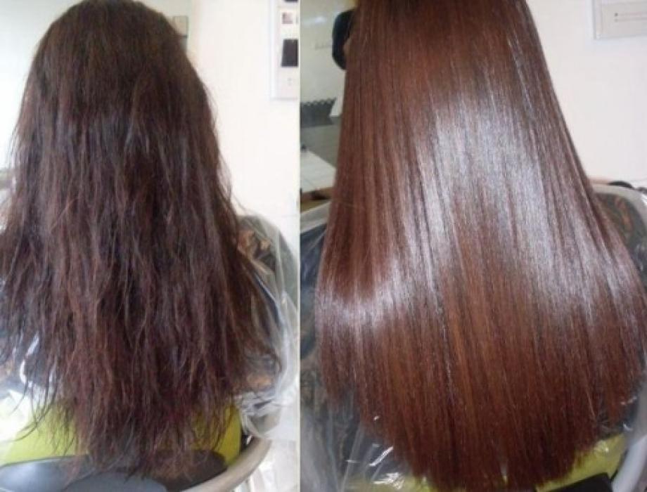 Отзывы кератиновое выпрямление волос дома