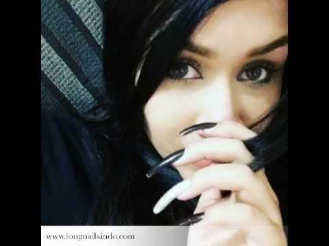 Long nails of girls