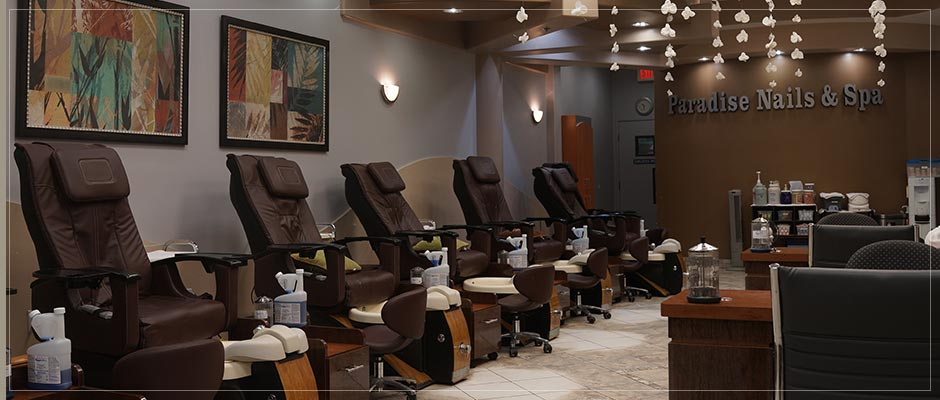 Paradise nails and spa
