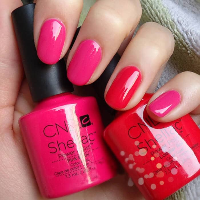 Pink Power Colorful Nail Designs