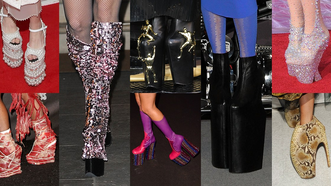 Alexander mcqueen lady gaga shoes price