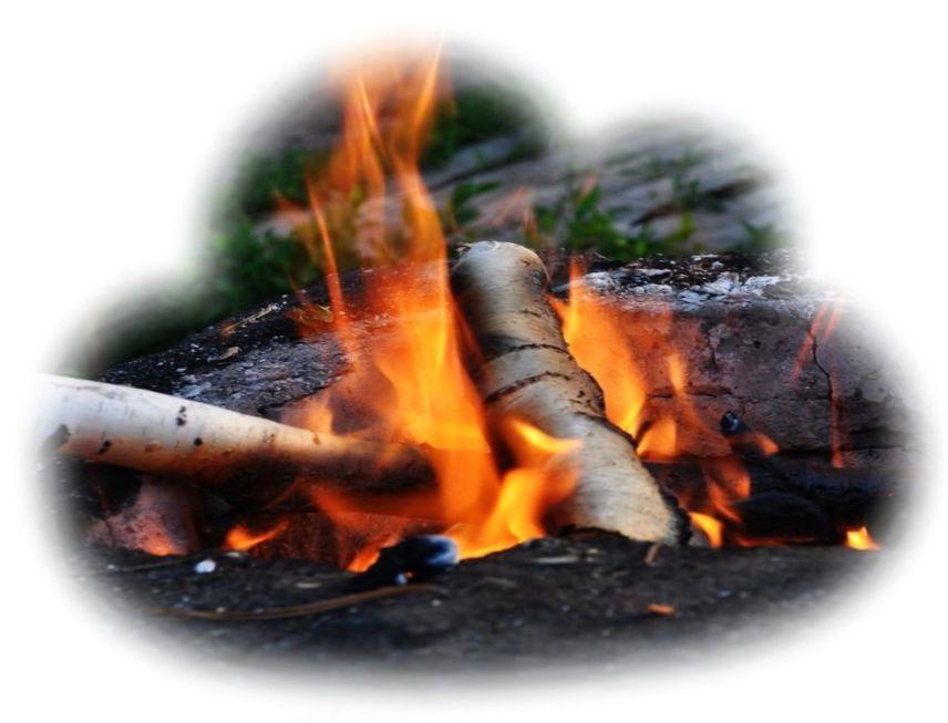 Во сне разжигать костер