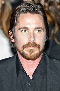 A photograph of Christian Bale at the 2009 Los Angeles Film Festival
