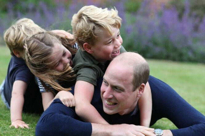 Принц уильям и его дети