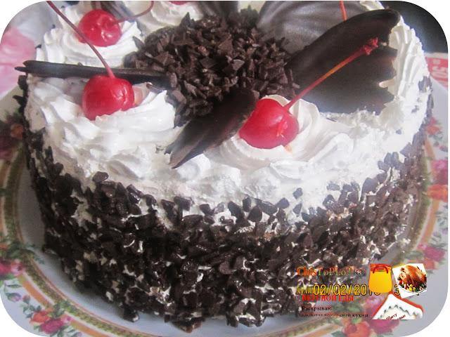 """Как приготовить вкусный торт """"Черный лес"""" своими руками."""