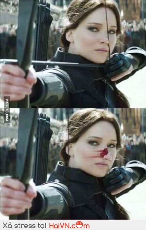Đây là lần cuối tôi thấy chị ấy bắn cung