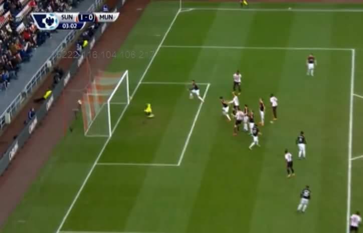 Sunderland mở tỷ số từ ngay phút thứ 3 :3 Chắc Thần Rùa đi chơi Tết chưa về...