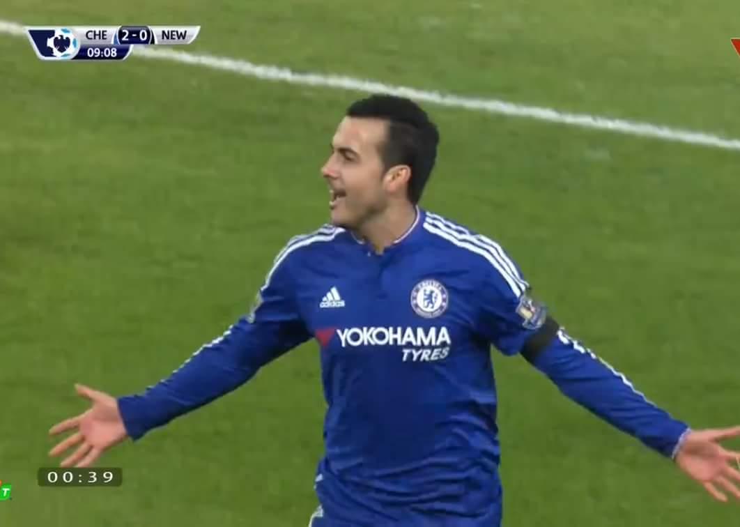 Tôi có nhìn nhầm không ? Pedro ghi bàn