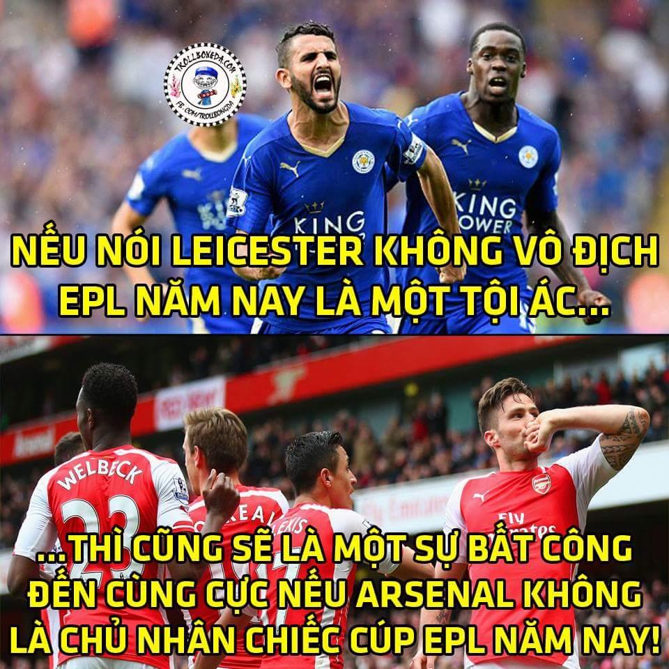 Lei thủ chắc nhưng Arsenal có chưởng cuối quá mạnh. 2 ứng viên vô địch nặng ký đây chứ đâu....