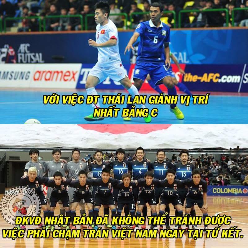 FT : Việt Nam 1-3 Thái Lan. Chia buồn với tuyển Nhật Bản.