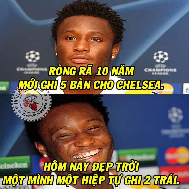 HT : PSG 1-1 Chelsea. Hiệp đấu của riêng mình soái ca Mikel