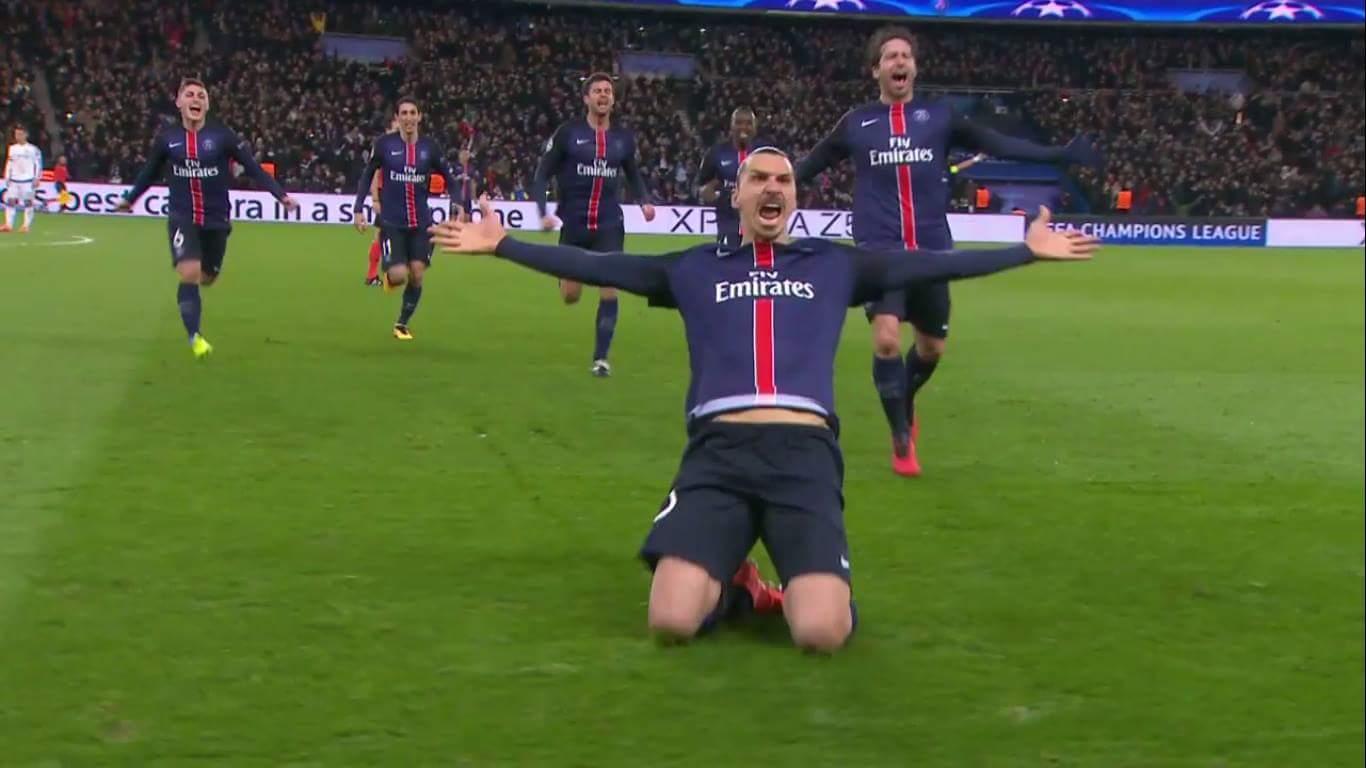 Goalllllllllll Ibrahimovic .... 1-0 cho