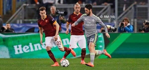 HT: Roma 0-0 Madrid :3 Chả có nhấn nhá gì sất