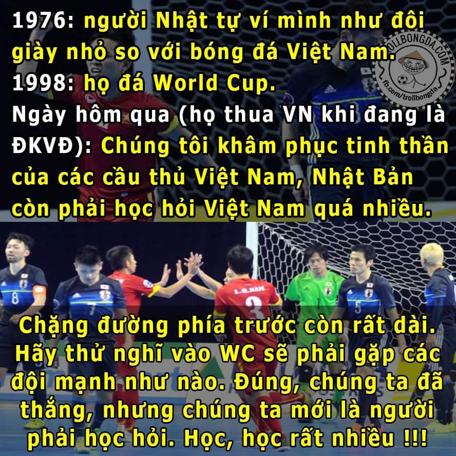 Hãy luôn khiêm tốn và nỗ lực như người Nhật, dự World Cup vui thật đấy nhưng vẫn còn lắm âu lo....