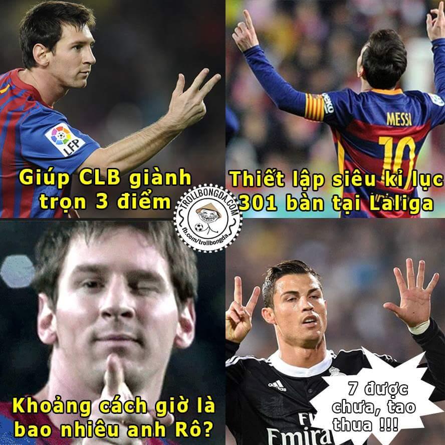 Đừng quên Messi đêm qua đã làm được gì!