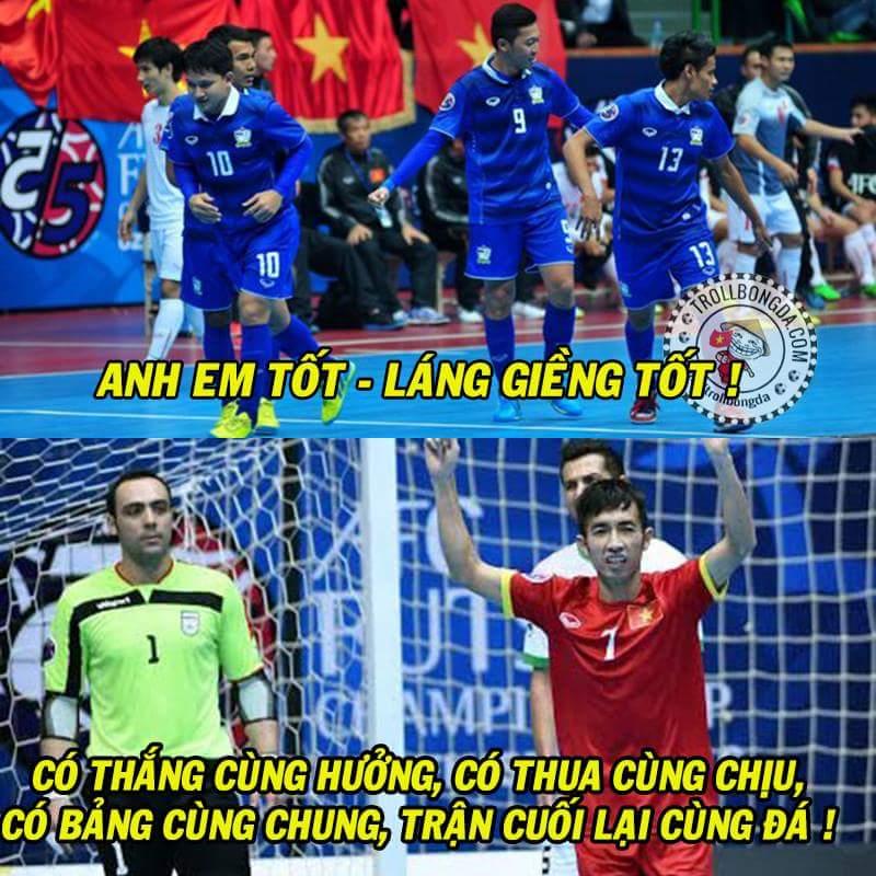 FT : Việt Nam 1-13 Iran. Chúng ta sẽ tái ngộ Thái Lan ở trận tranh hạng 3.