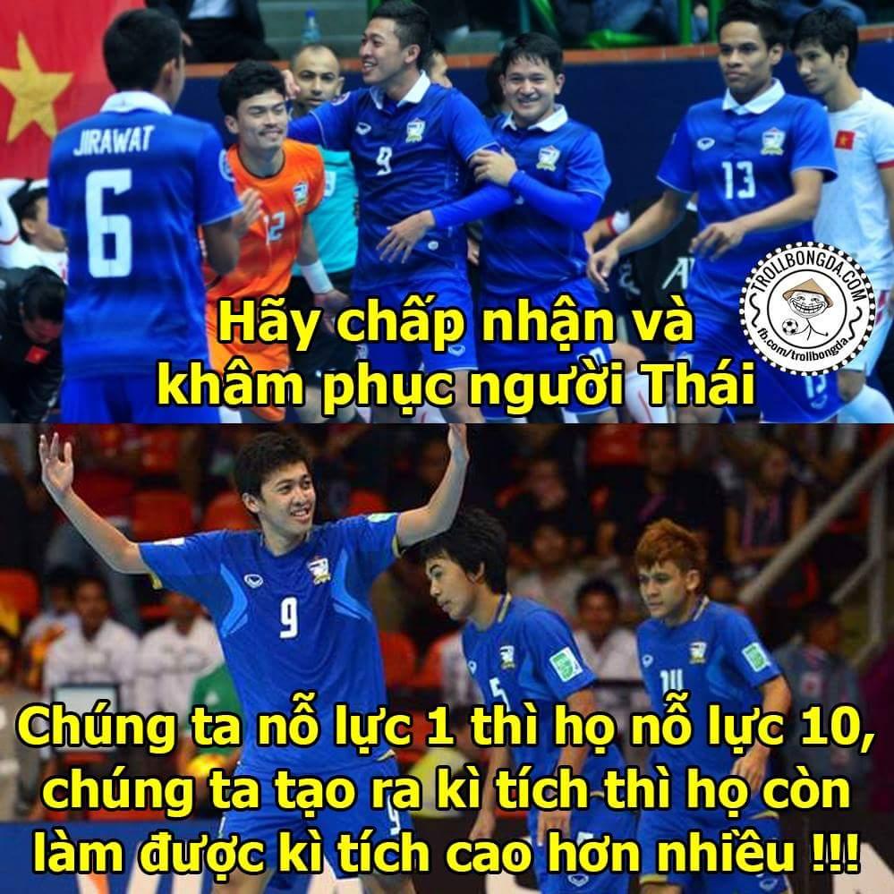 Hết giờ: Việt Nam 0-8 Thái Lan Thua toàn diện.