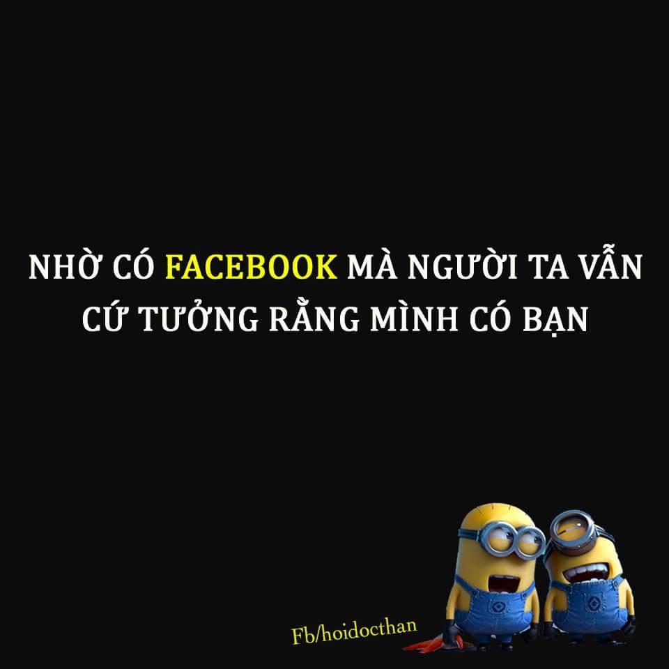 Hồi xưa mình ÍT nói lắm, từ khi chơi facebook mình CÂM luôn