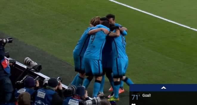 VÀOOOOOO......Messi đã ghi bàn vào lưới Cech, lịch sử đã được viết lại...