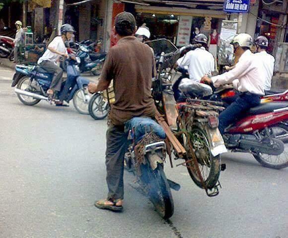 Người vận chuyển lê vồ Việt Nam