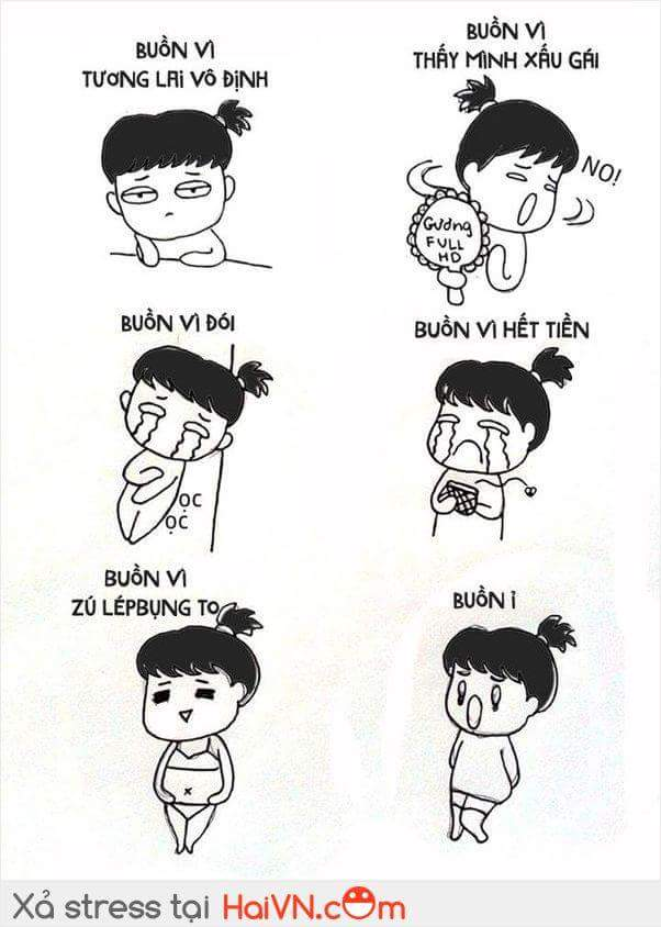 Nỗi buồn của con gái