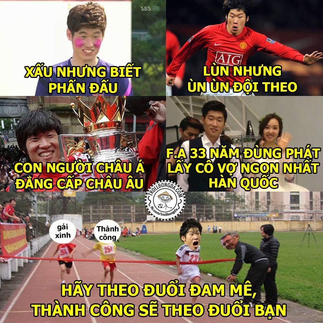 Chúc mừng sinh nhât anh Park Ji Sung, niềm tự hào của châu Á.