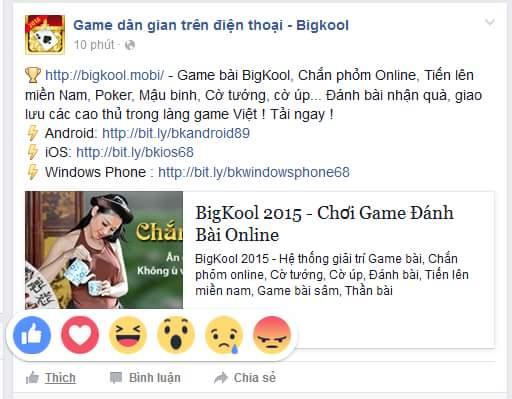 Facebook đã update thêm nhiều cảm xúc hơn nút like :3 Các bạn hãy bấm yêu Hội những người...