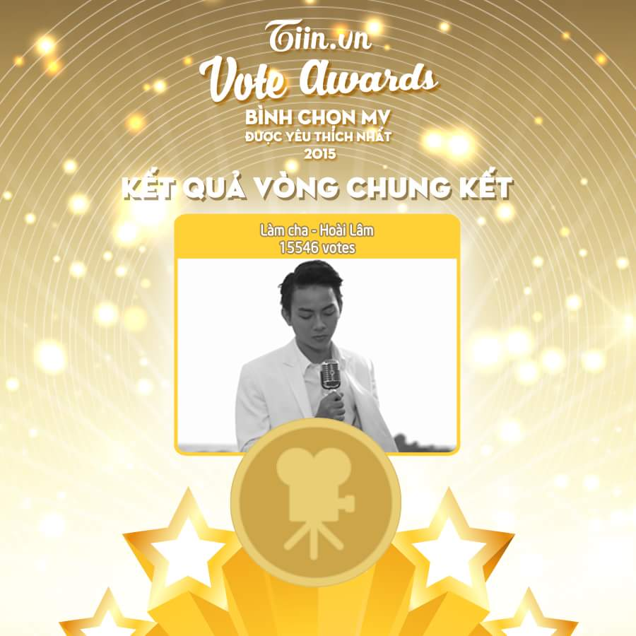 TIIN VOTE AWARDS – BÌNH CHỌN MV ĐƯỢC YÊU THÍCH NHẤT NĂM 2015  Sau 12 ngày diễn ra Tiin Vote...