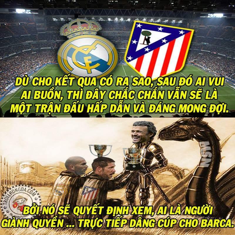 Thành Madrid quyết chiến vì Barca. :v  #LaLiga