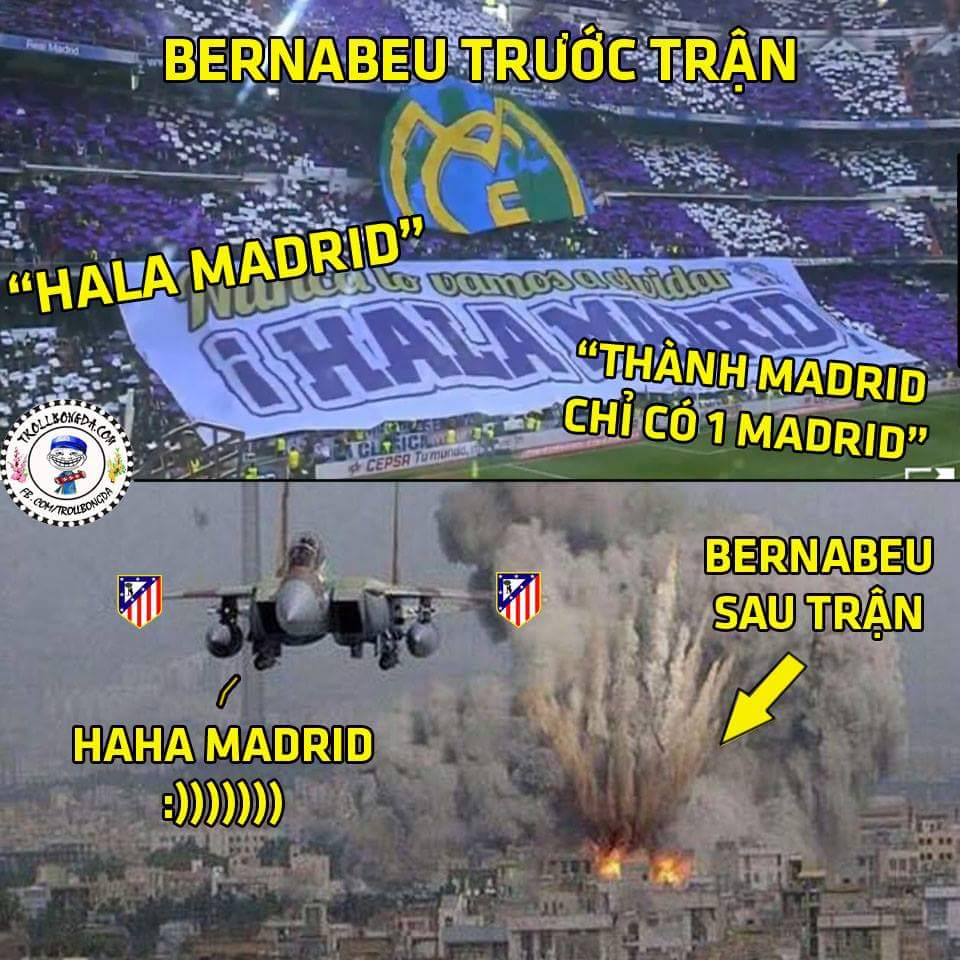 Tạm biệt Real nhé :( Atletico và Barca đi trước
