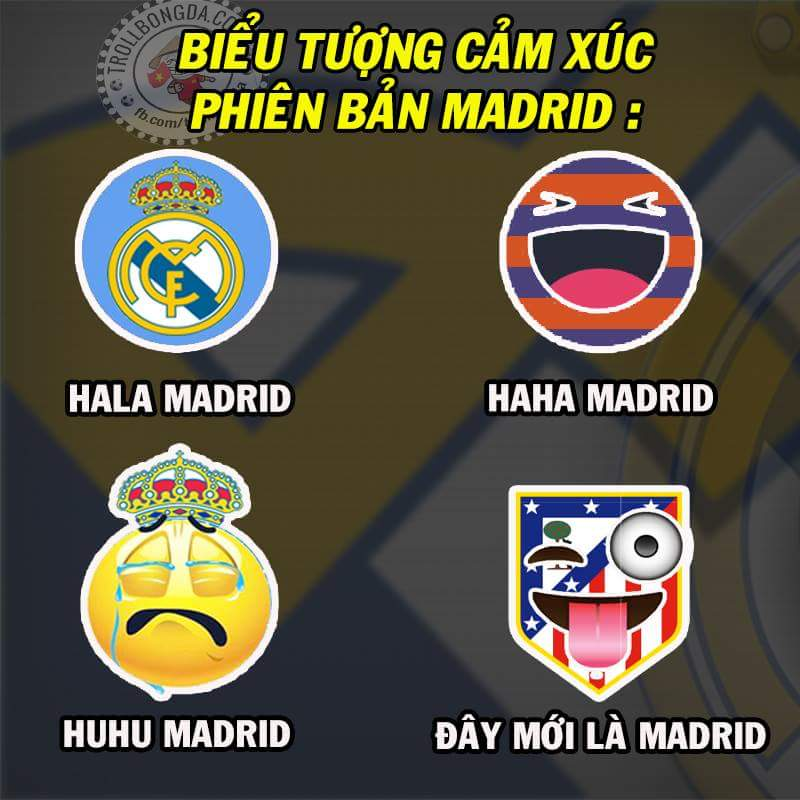 Facebook của bạn update cái này chưa ? =))) :v  #Madrid
