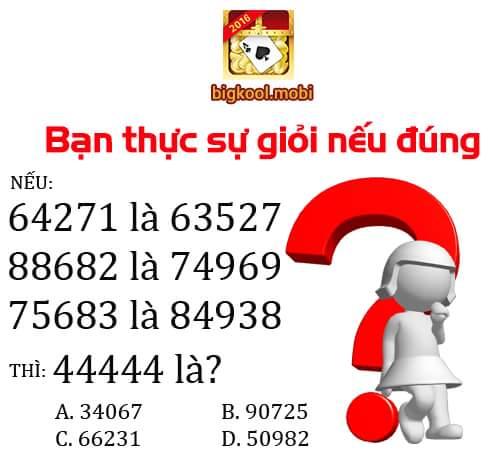 [ĐỐ VUI IQ] Theo bạn đáp án đúng sẽ là bao nhiêu