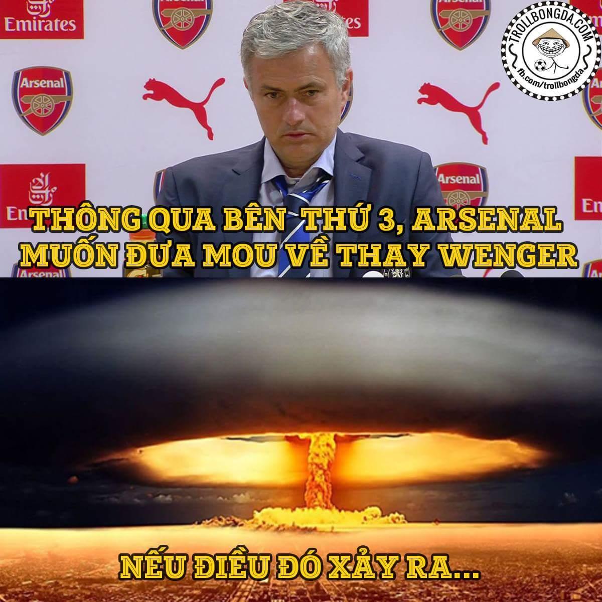Arsenal đã tiếp cận Mou từ đầu tháng 3